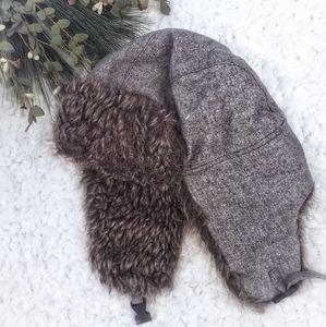 Faux Fur Earflap Hat